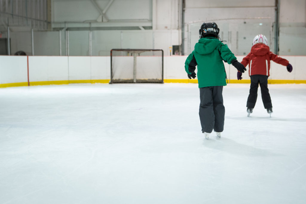 FALL LEARN TO SKATE/KINDERSTICKS NOW OPEN FOR REGISTRATION!